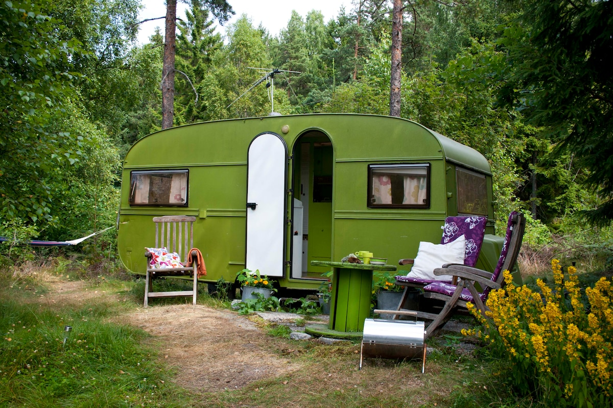 The Green Hipster Camper