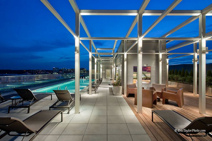 Rooftop Lounge Areas