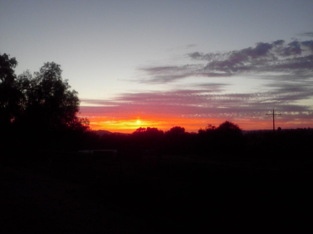 A beautiful sunset ... 2013