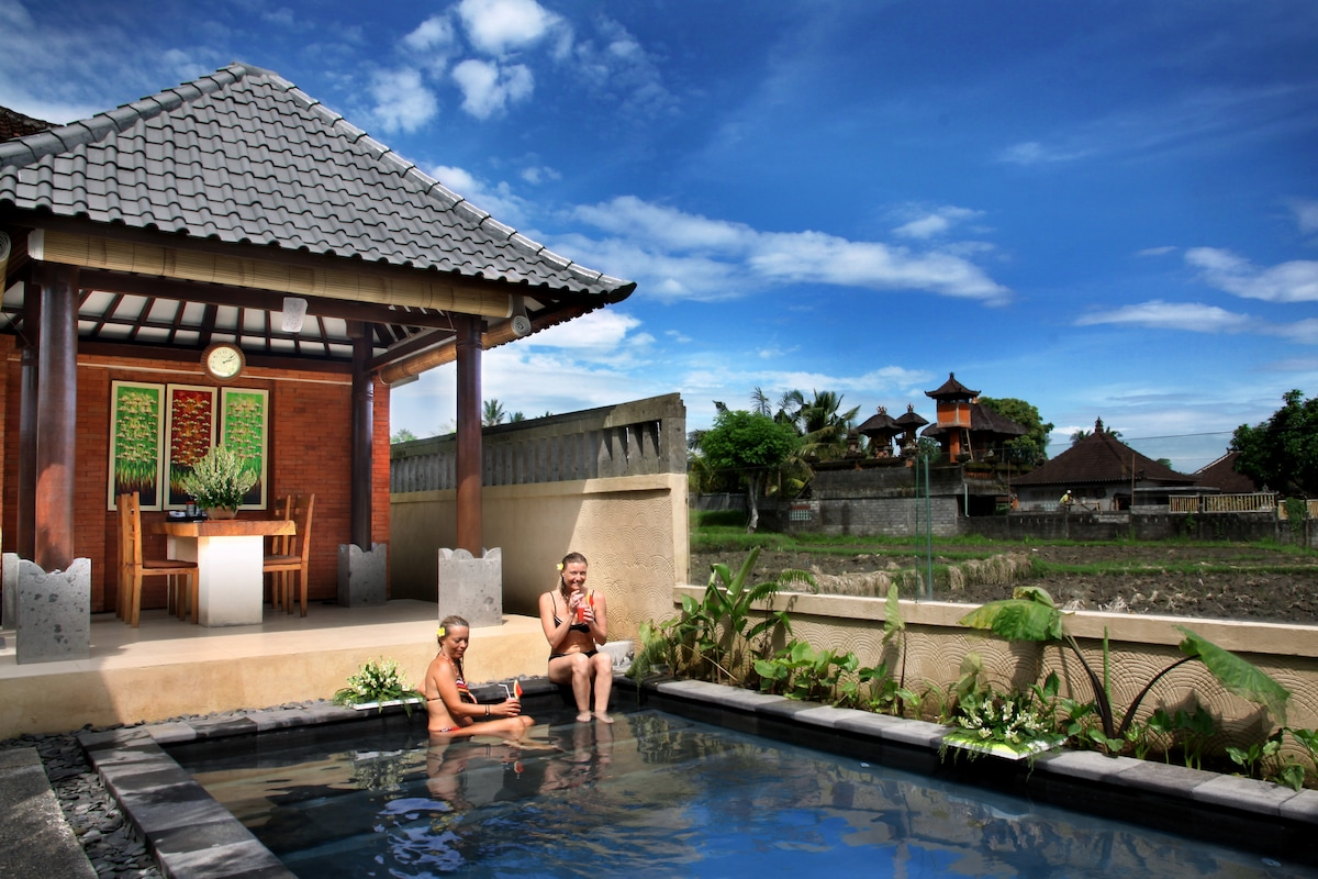 Fresh Ubud Villa in Paddi Village