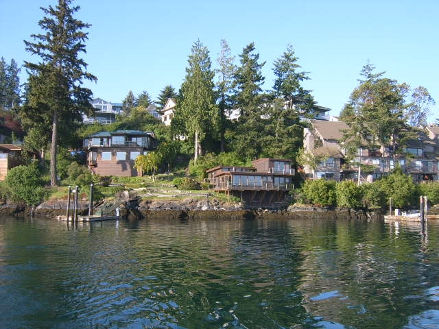 Friday Harbor Waterfront with dock