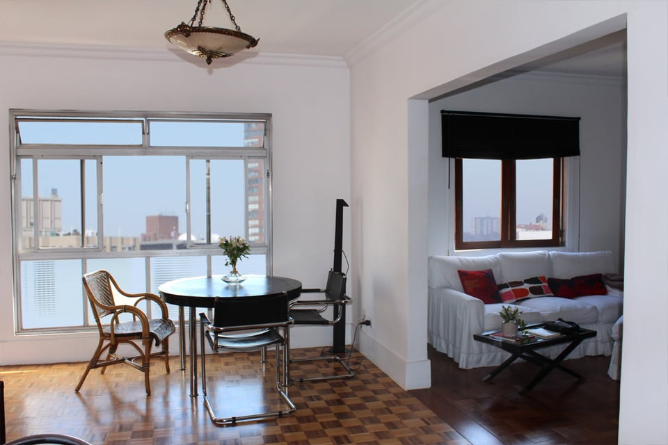 Top floor 100m2 apt in Pinheiros SP