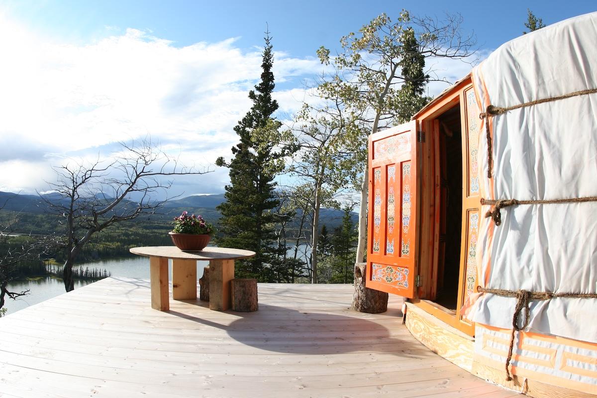 Traveling Light - Mongolian Yurt