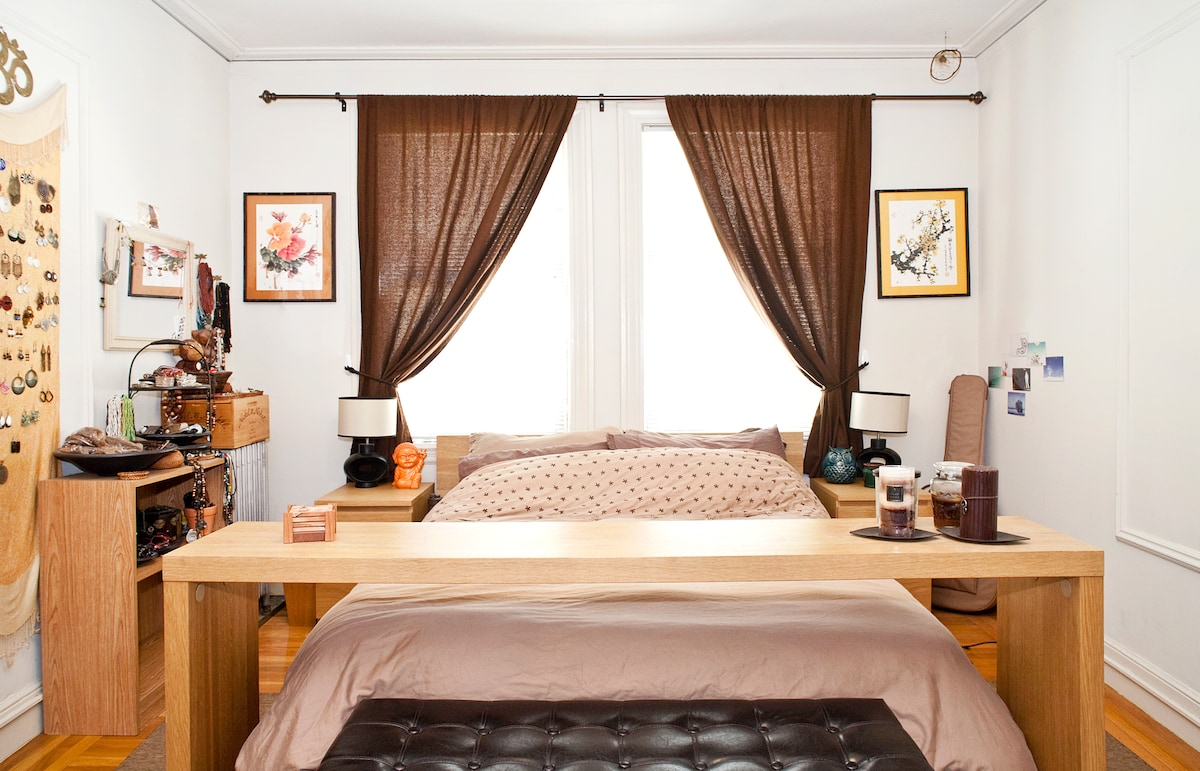 Quiet, Large Master BR in Marina SF
