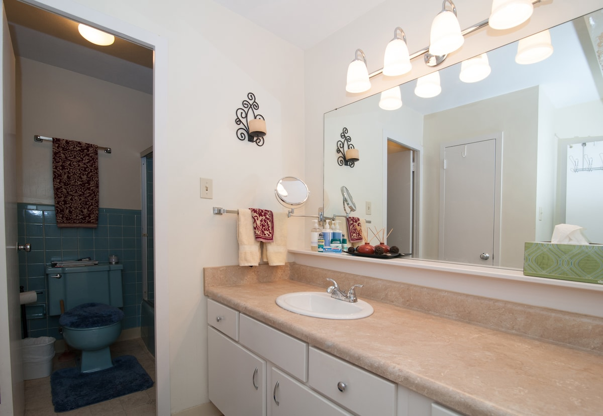 Private Spacious Midtown Suite/Bath