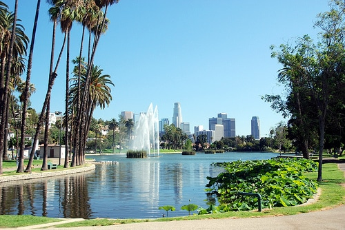 L.A. just spent millions of dollars to remodel Echo Park!  Walk there from our home and Enjoy it! (Paddleboats, great lunch, and a terrific place to see ducks.)