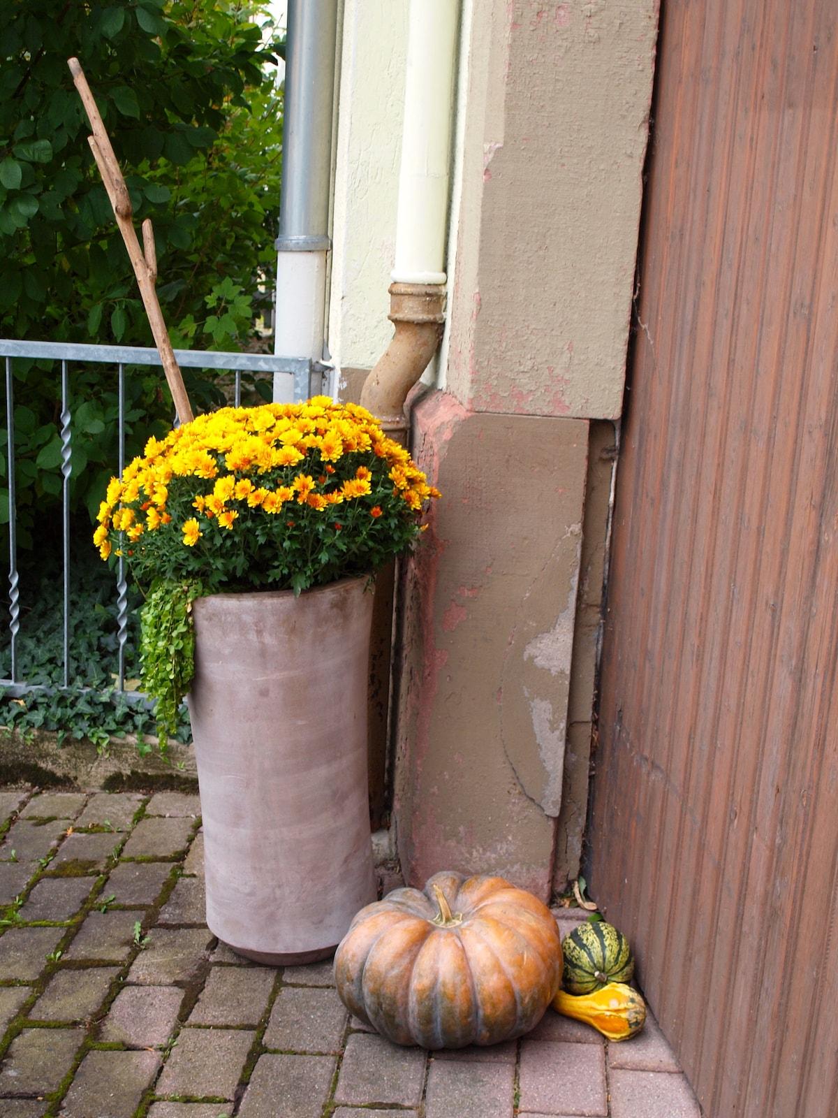 Front door decoration - Hoftor Dekoration