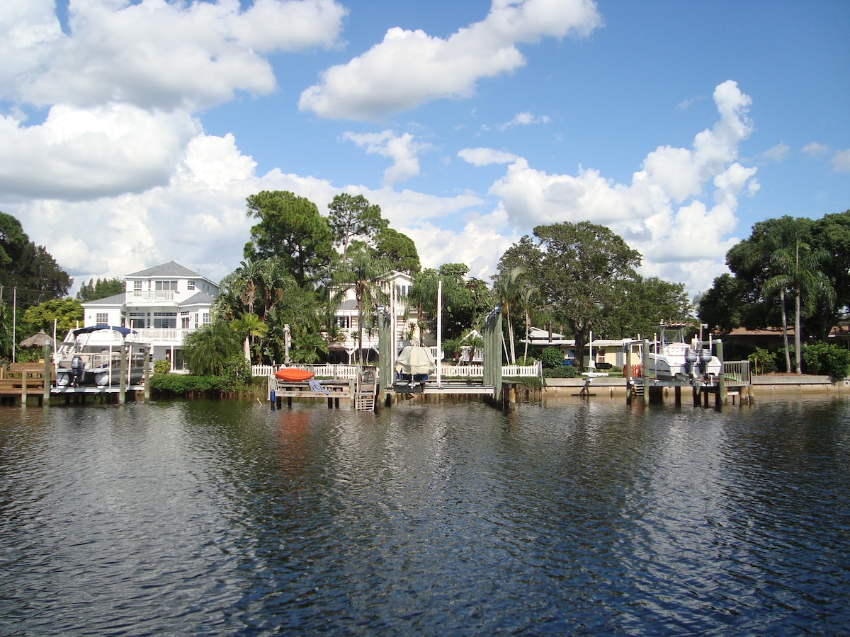 View from Sutherland Bayou.