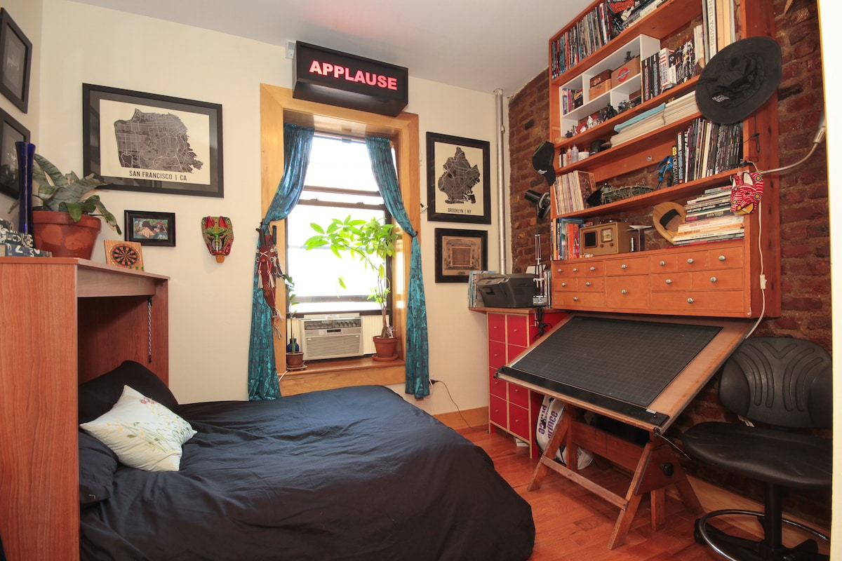 Cozy Room on Prospect Park!