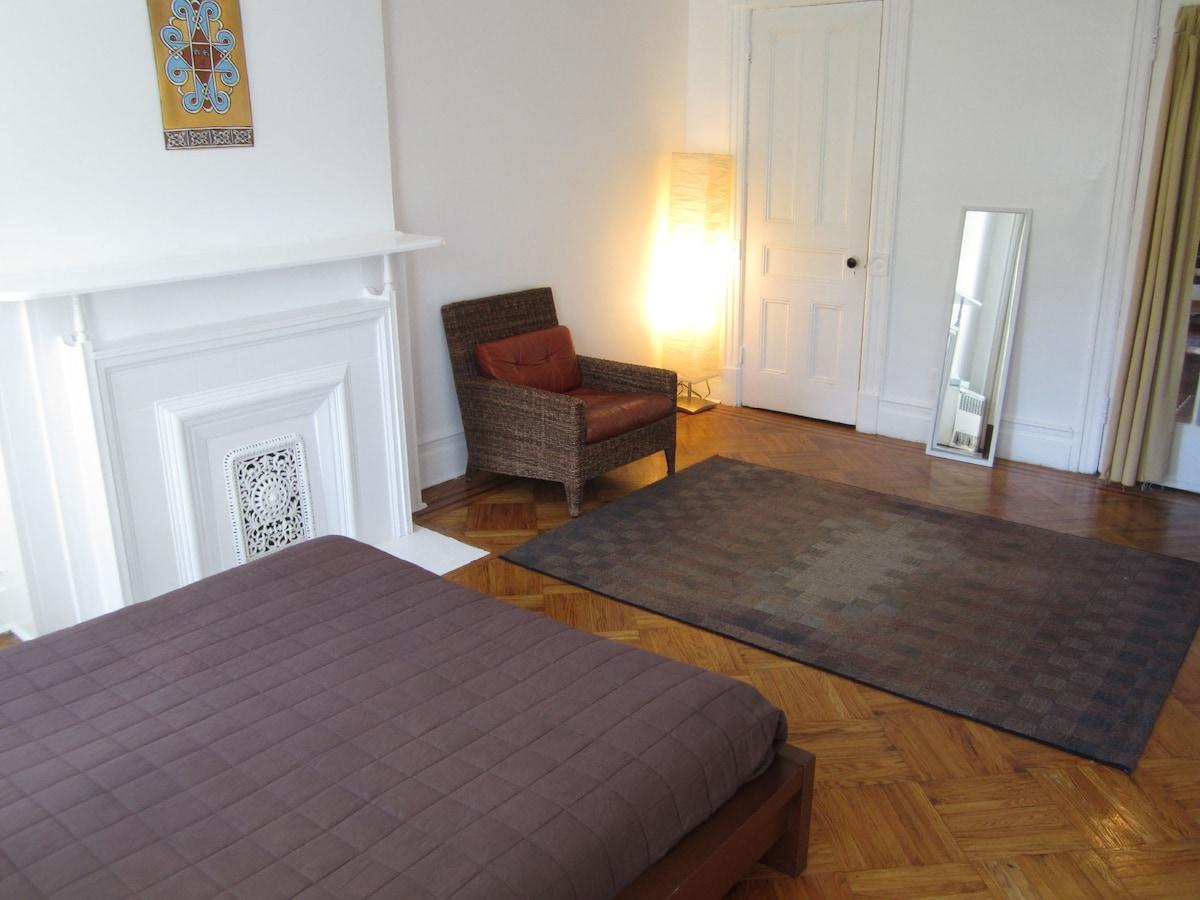 Master Bedroom: chair; 2nd closet; full-length mirror...