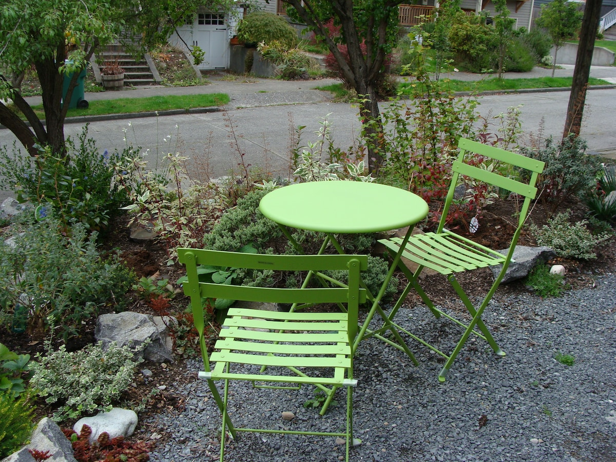 Have a seat and relax!