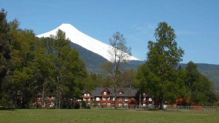 Vista del condominio - Volcán Villarrica