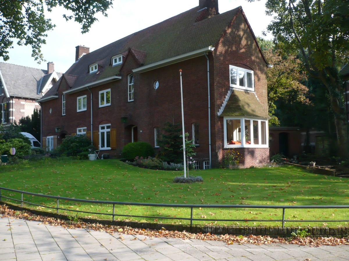 Family house in a residential area