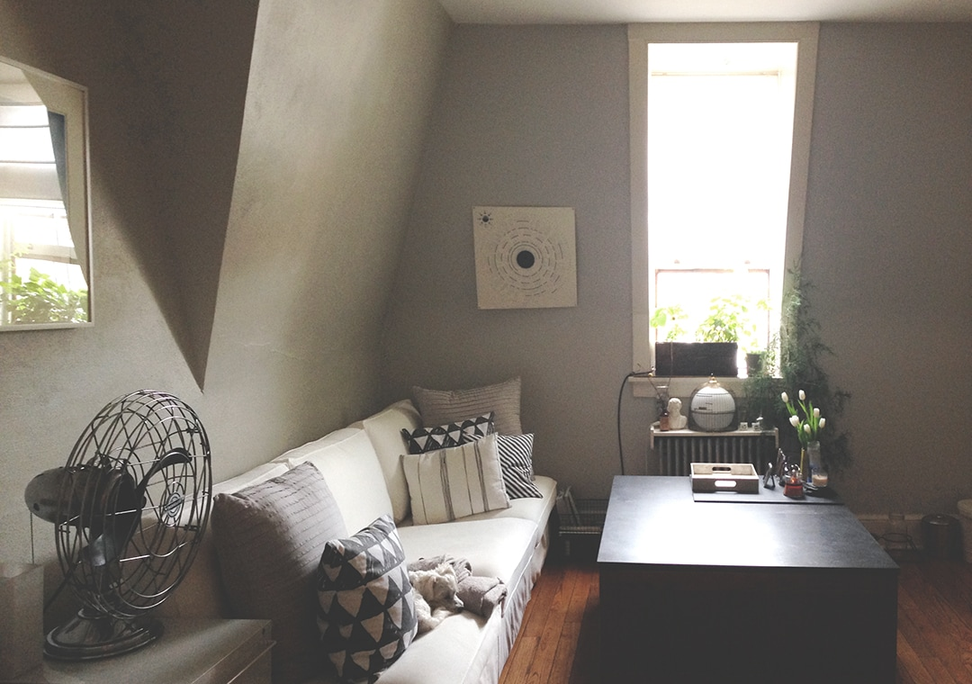attic apt in downtown Wilkes-Barre