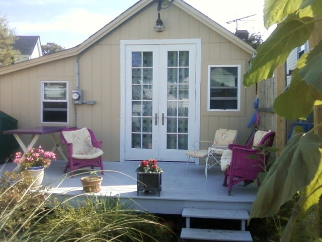 Cottage has all the features of a bigger home in a small efficient space.