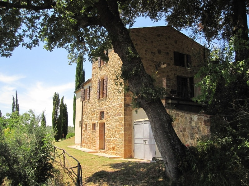 Villa on Montepulciano's valley