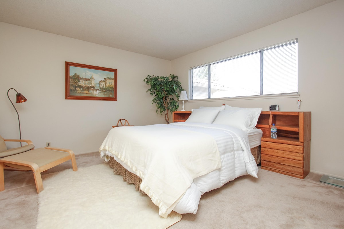 Master Bedroom+Private Shower Room