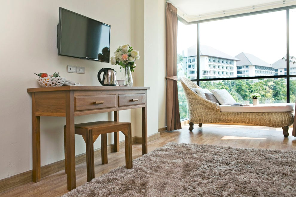 Beautiful room, great service, now at a special promotional price. Free wifi, air-con, hot shower, bicycle loan, free shuttle, rooftop gym amp;amp;amp;amp;amp;amp; sauna, etc.