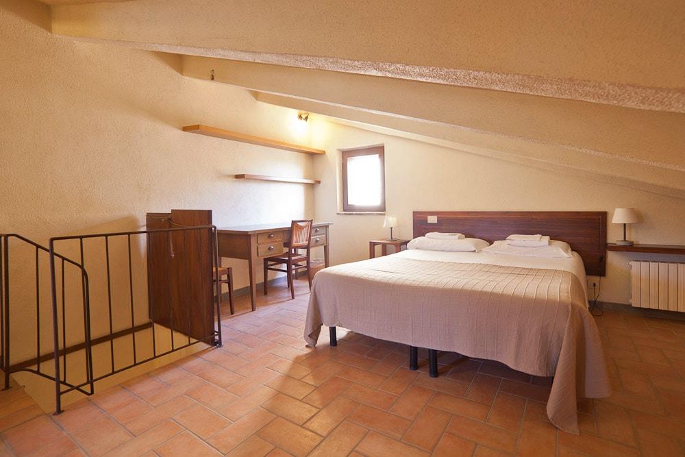 Attic Room in Farmhouse