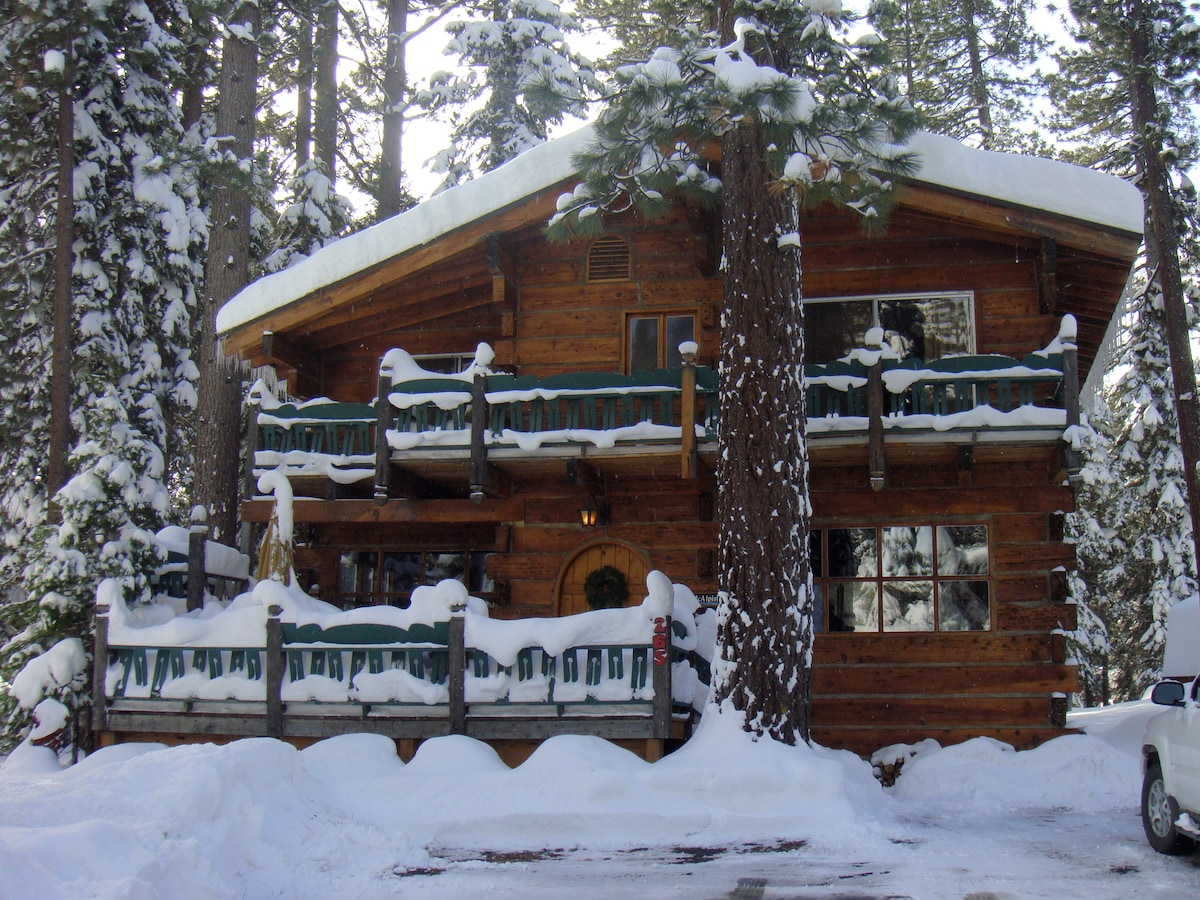 Classic Tahoe Cabin
