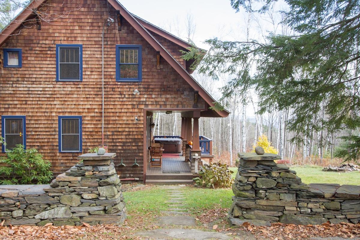 Arts+Crafts style bungalow - a gem.