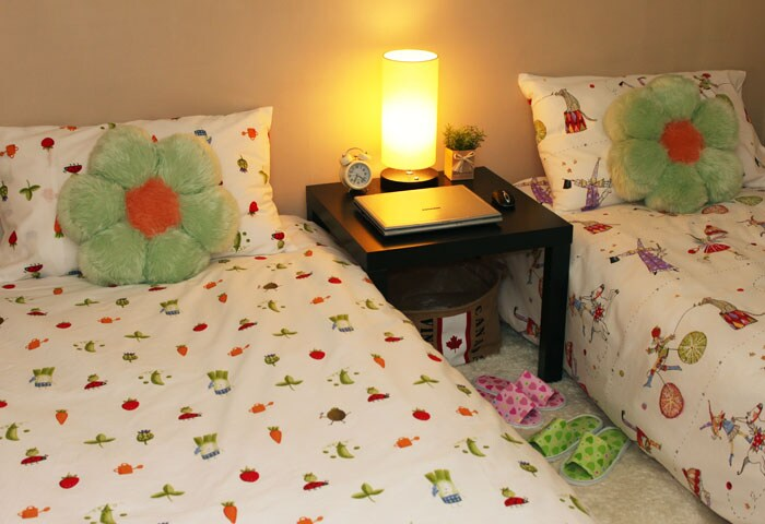 New! Twin bed private room E -SALE!