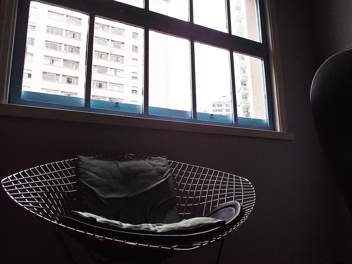 wide window with nice view