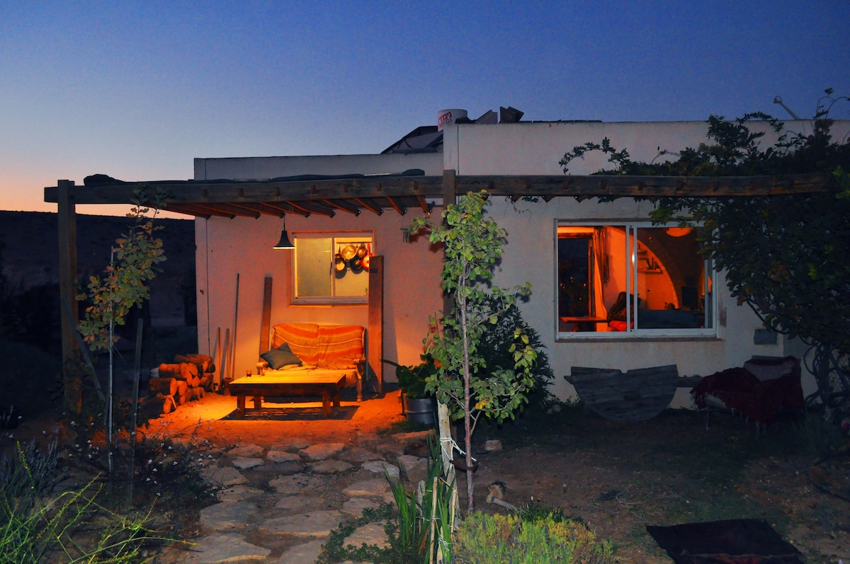 Evening time is the best time to seat on the porch and enjoy the clear air of the desert
