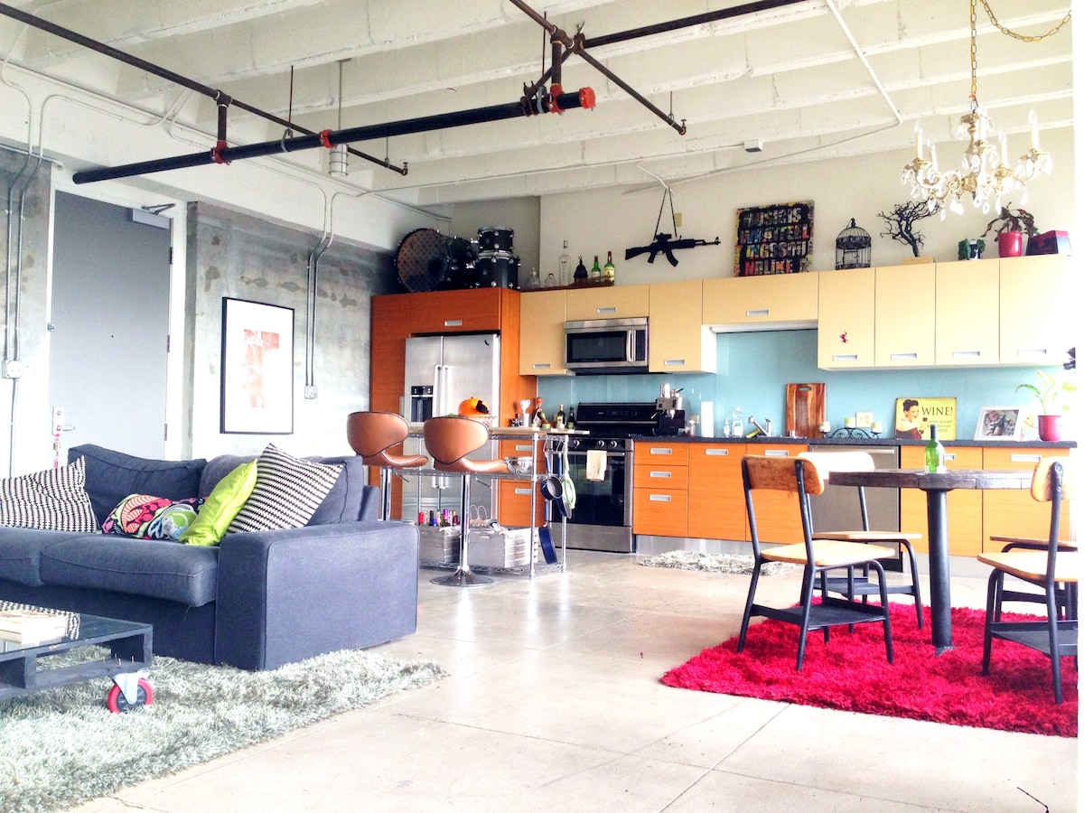 BEST Downtown Loft starting at $139
