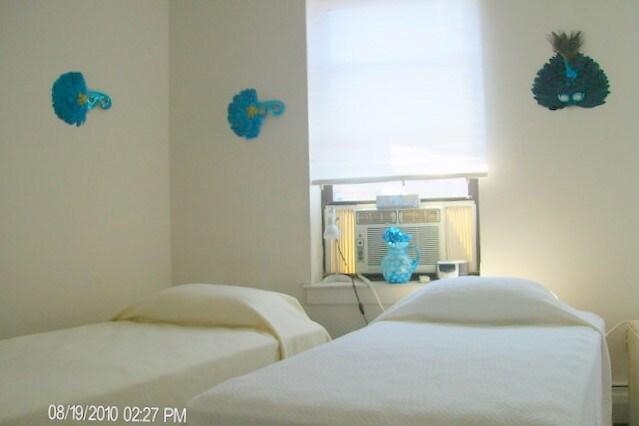 Both beds rearrange.