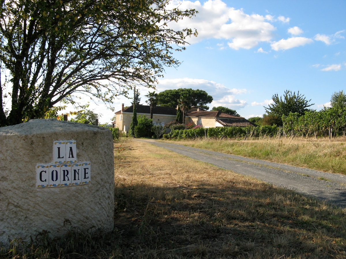 stay in a wine property with a soul