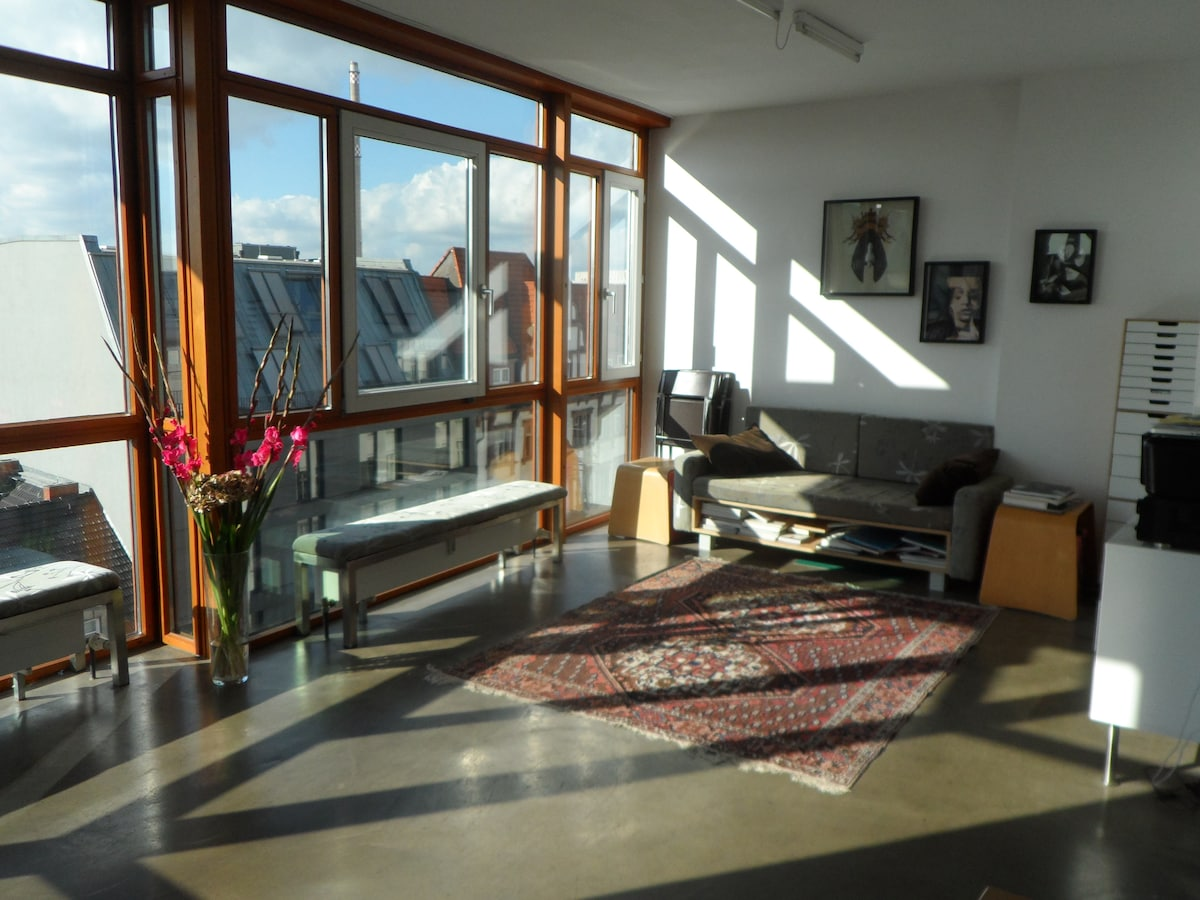 Room in penthouse in Mitte