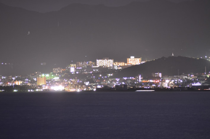 I can guide beppu city by car
