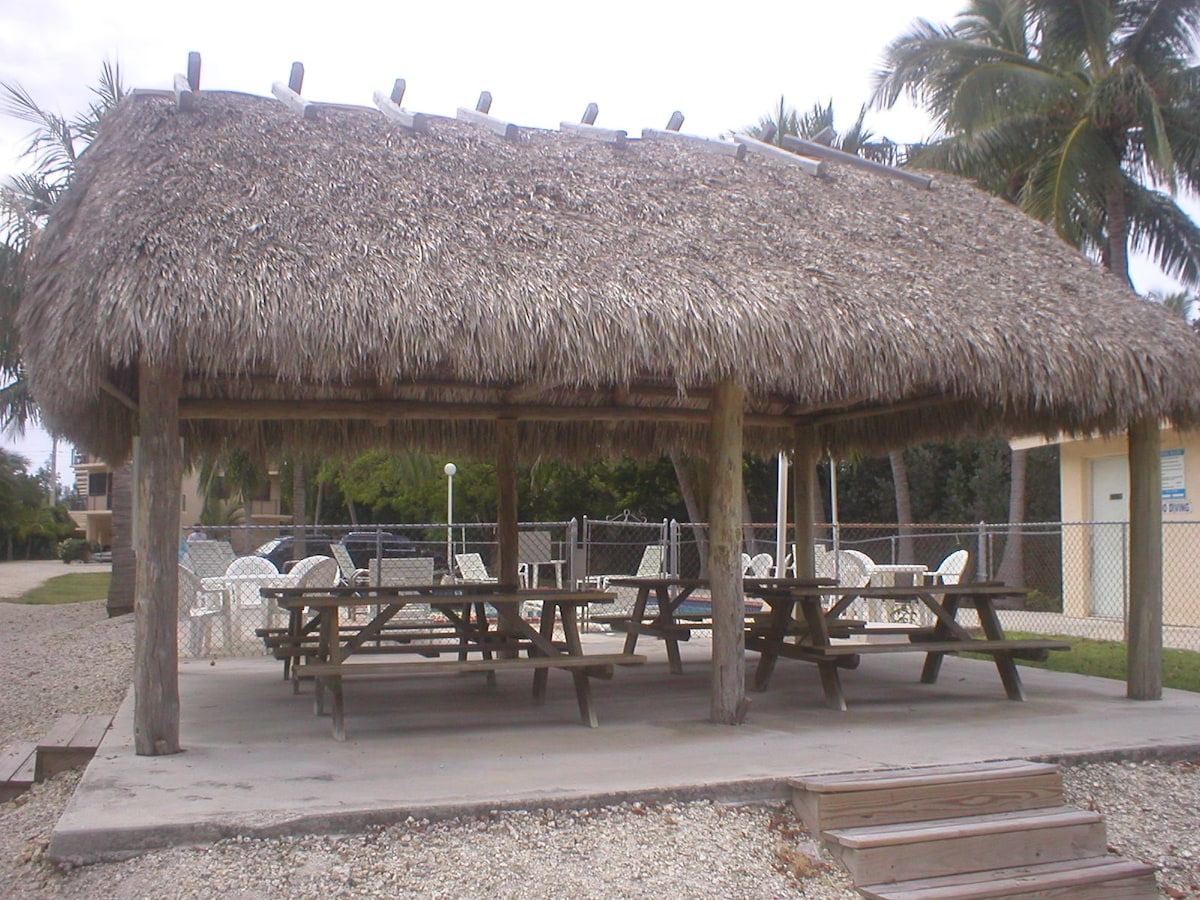 Shaded Tiki Hut