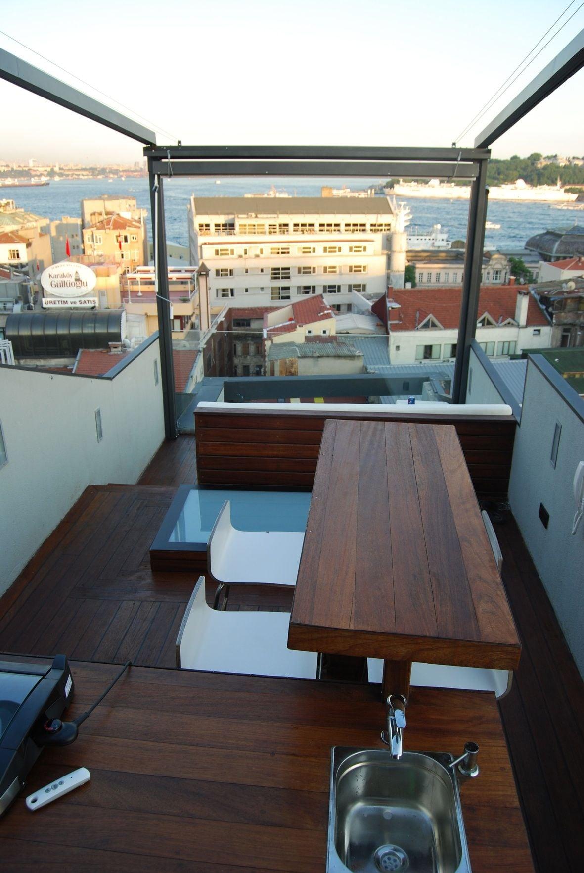 Terrace,sea view,Karakoy,Beyoglu,
