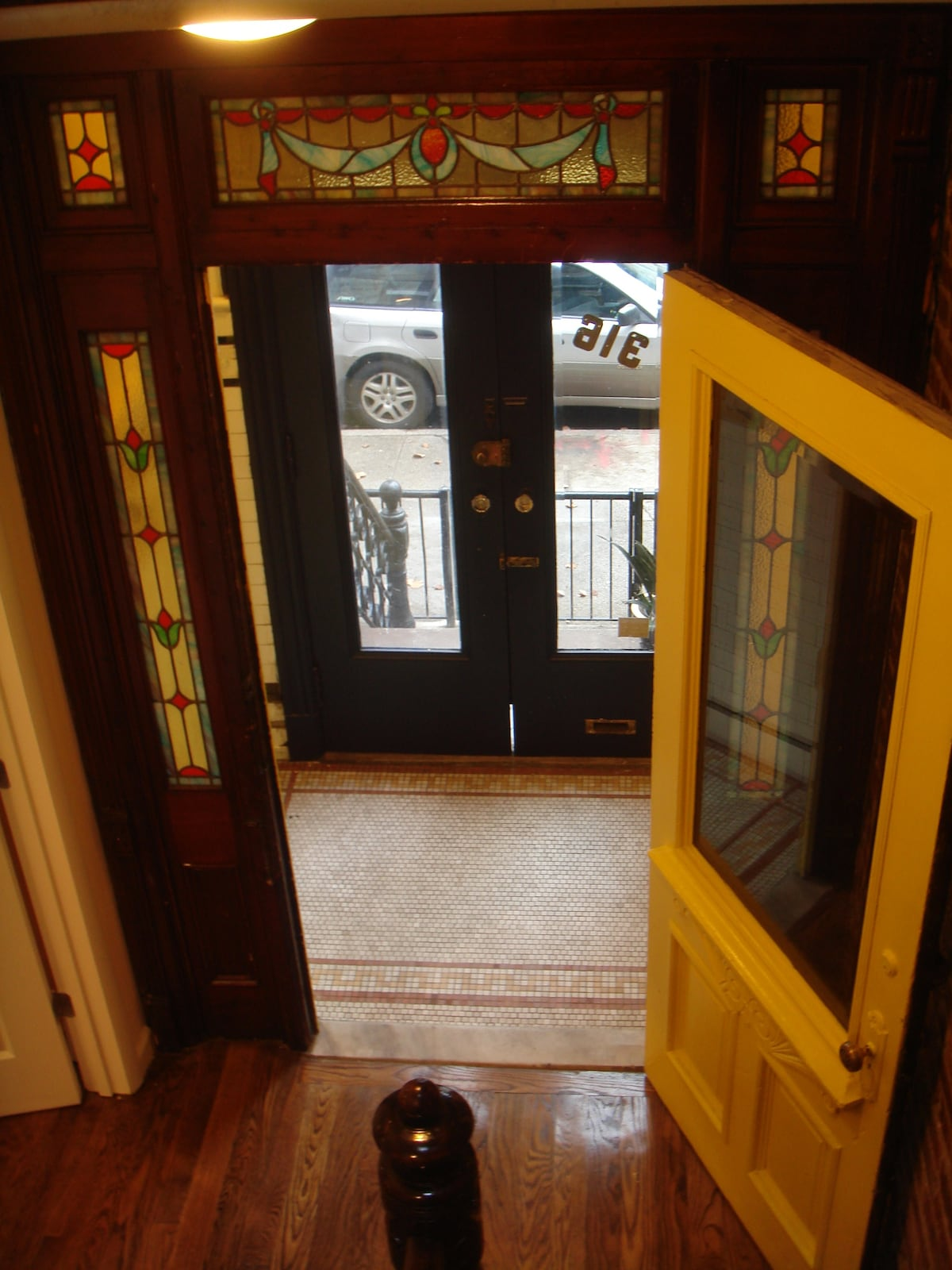 Our 100 year old foyer