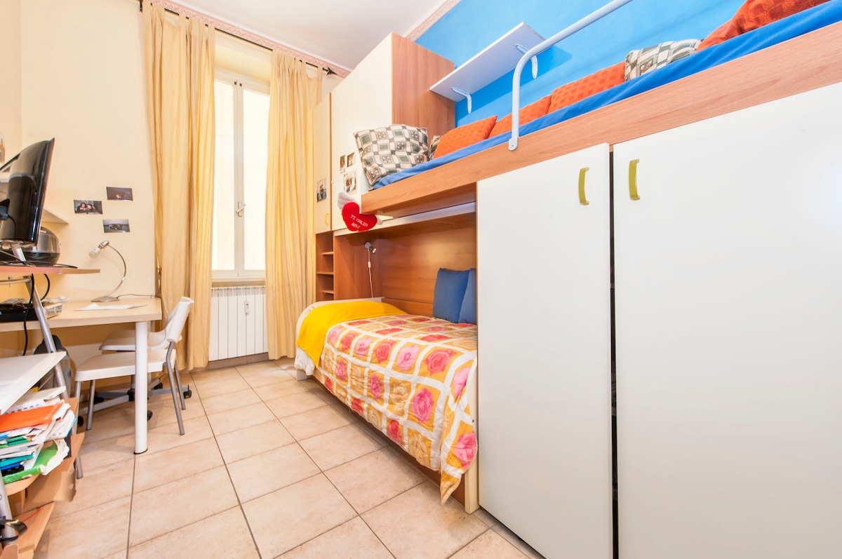 Cental - single/double room