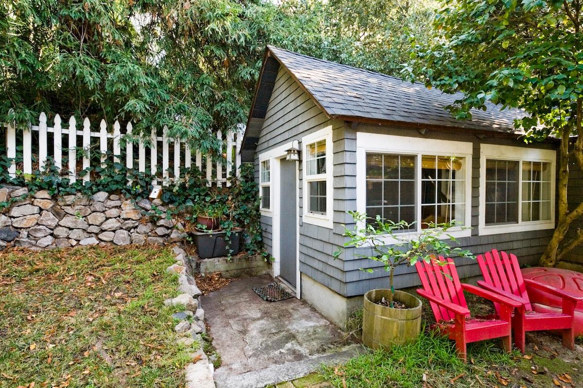 Private 1BR/1BA Backyard Cottage
