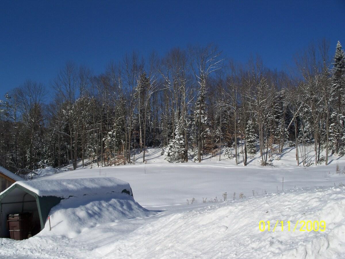 Vermont Retreat stay play ski relax