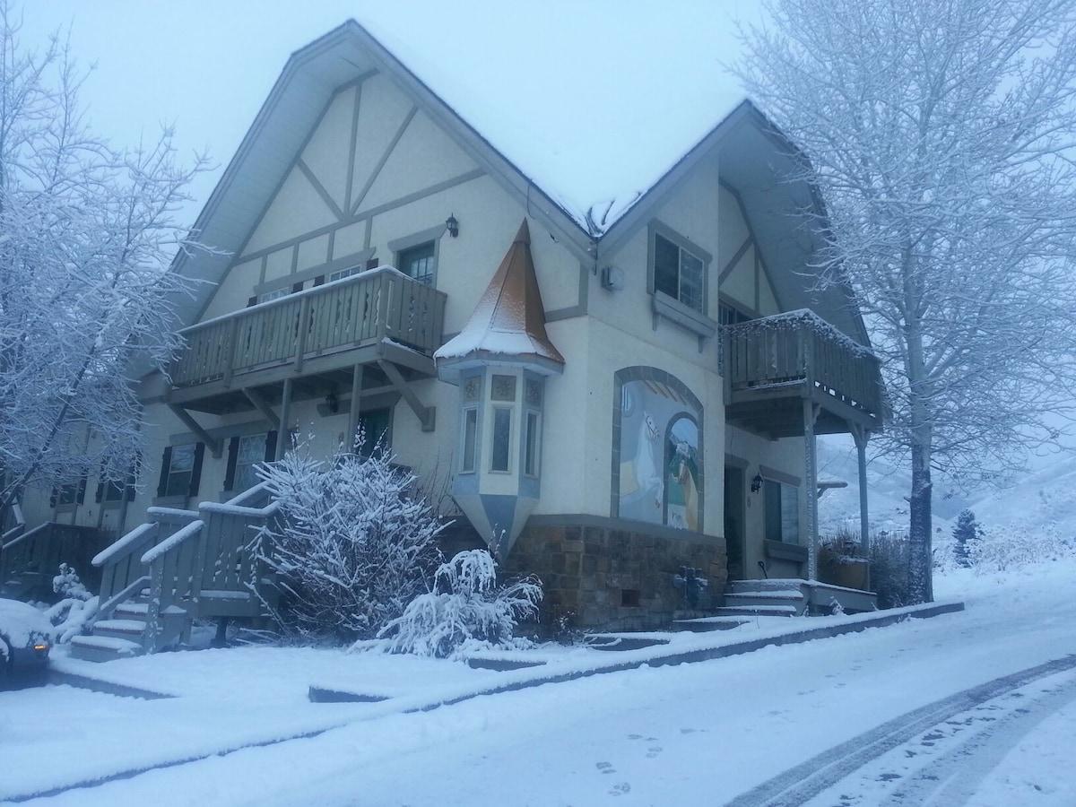 Entire home/apt 15 mins ski Midway