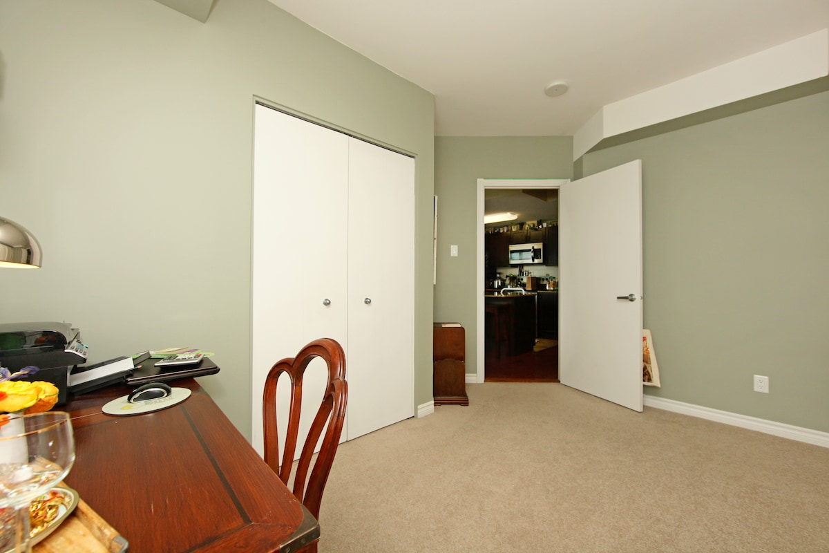 Private room with spacious closet