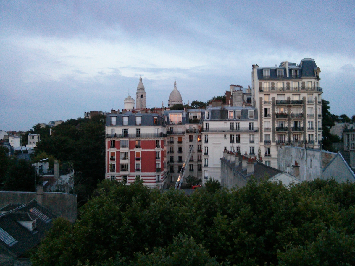 Vue du balcon - View from the balcony