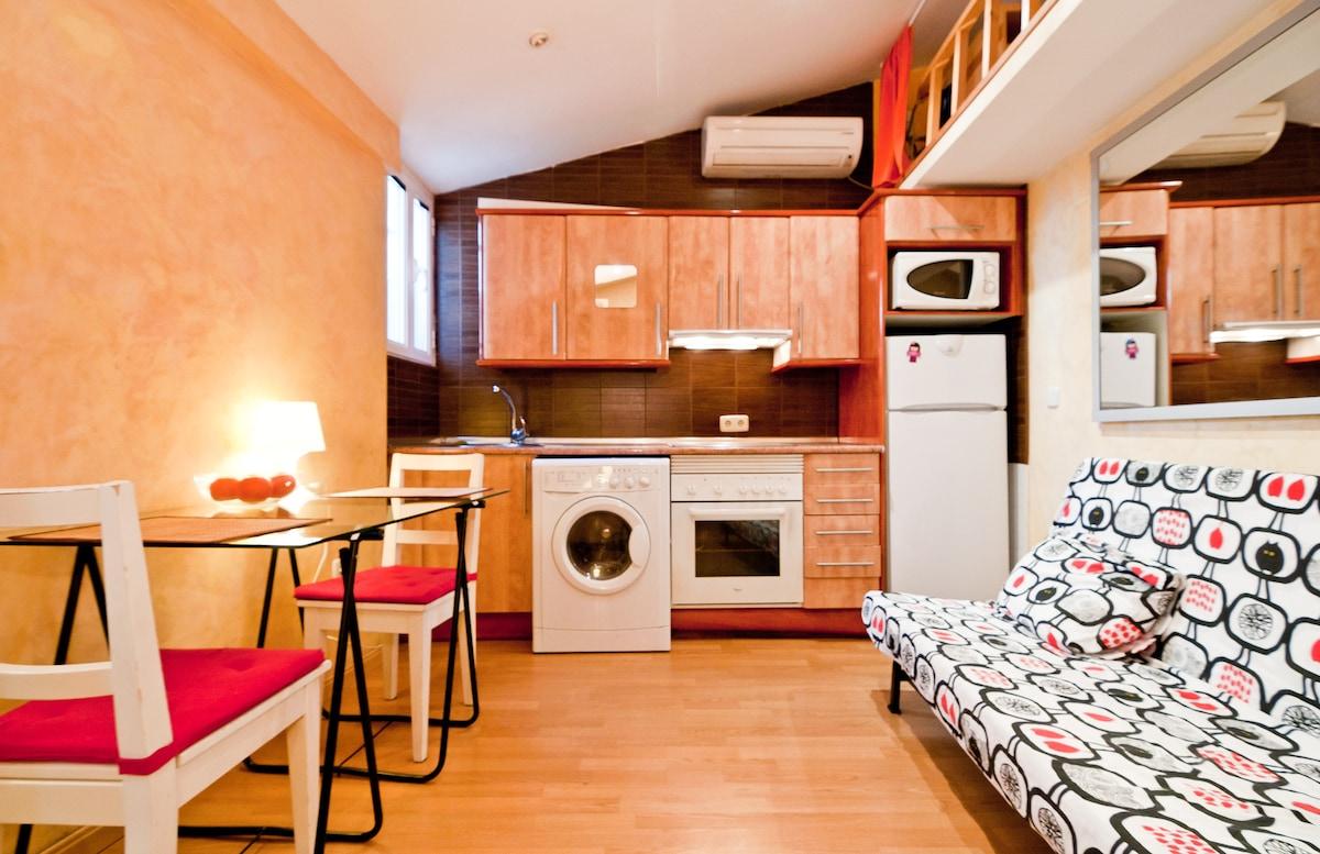 WIFI 1 BEDROOM FLAT CHUECA