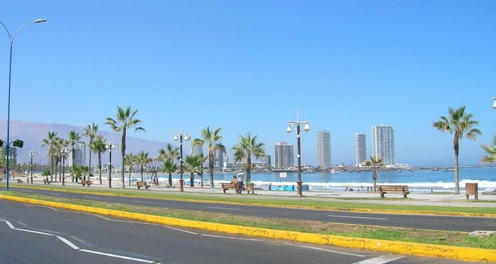 Cavancha beach - convenient option