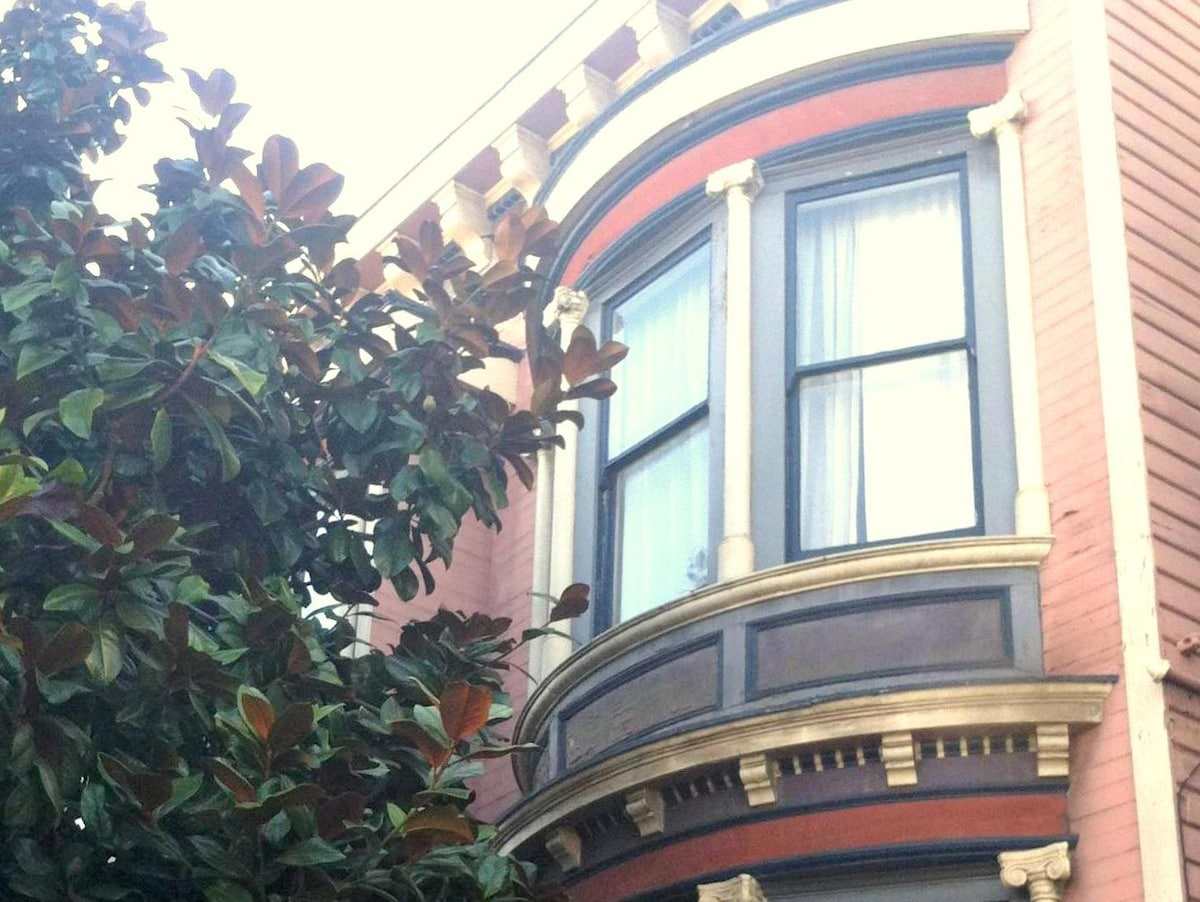 Classic Victorian in lower Pacific Heights.