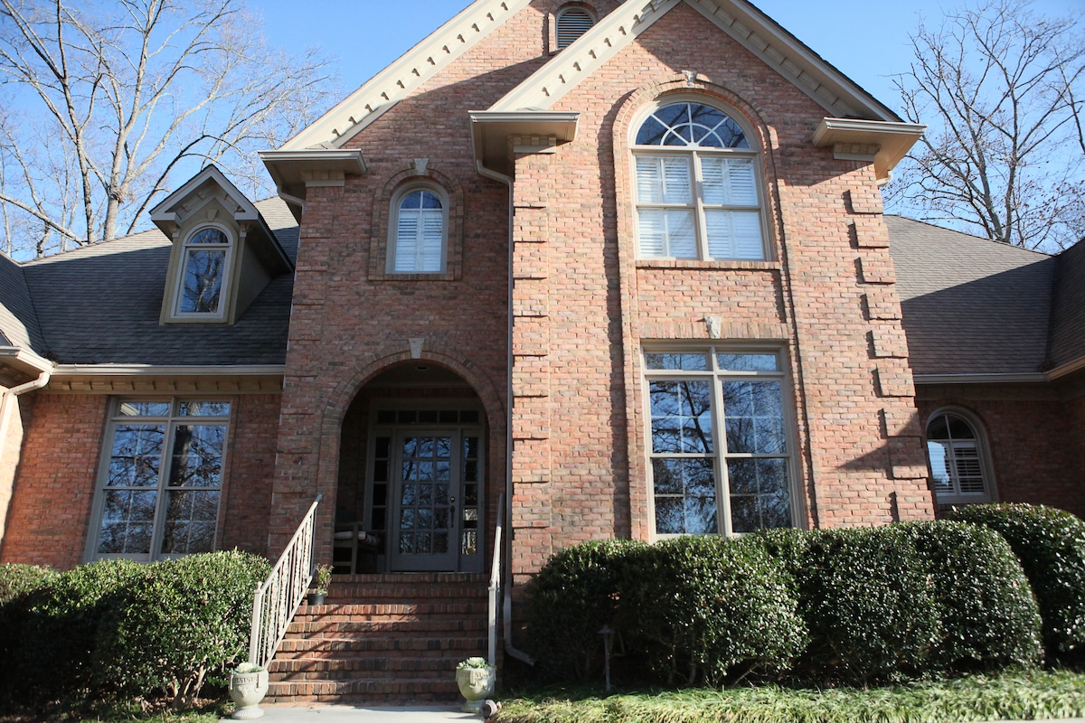 The home is located in one of Birmingham's finest neighborhoods