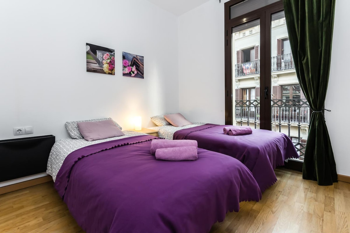 Centric Apartment Born for 6 people