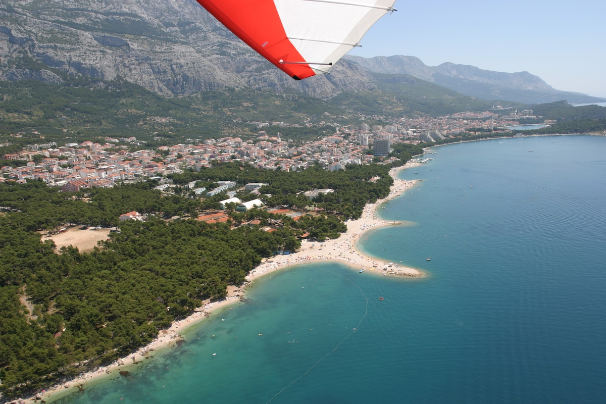 Less than14euro per person until 14.06.2015. Beach from large to small in the east to the west