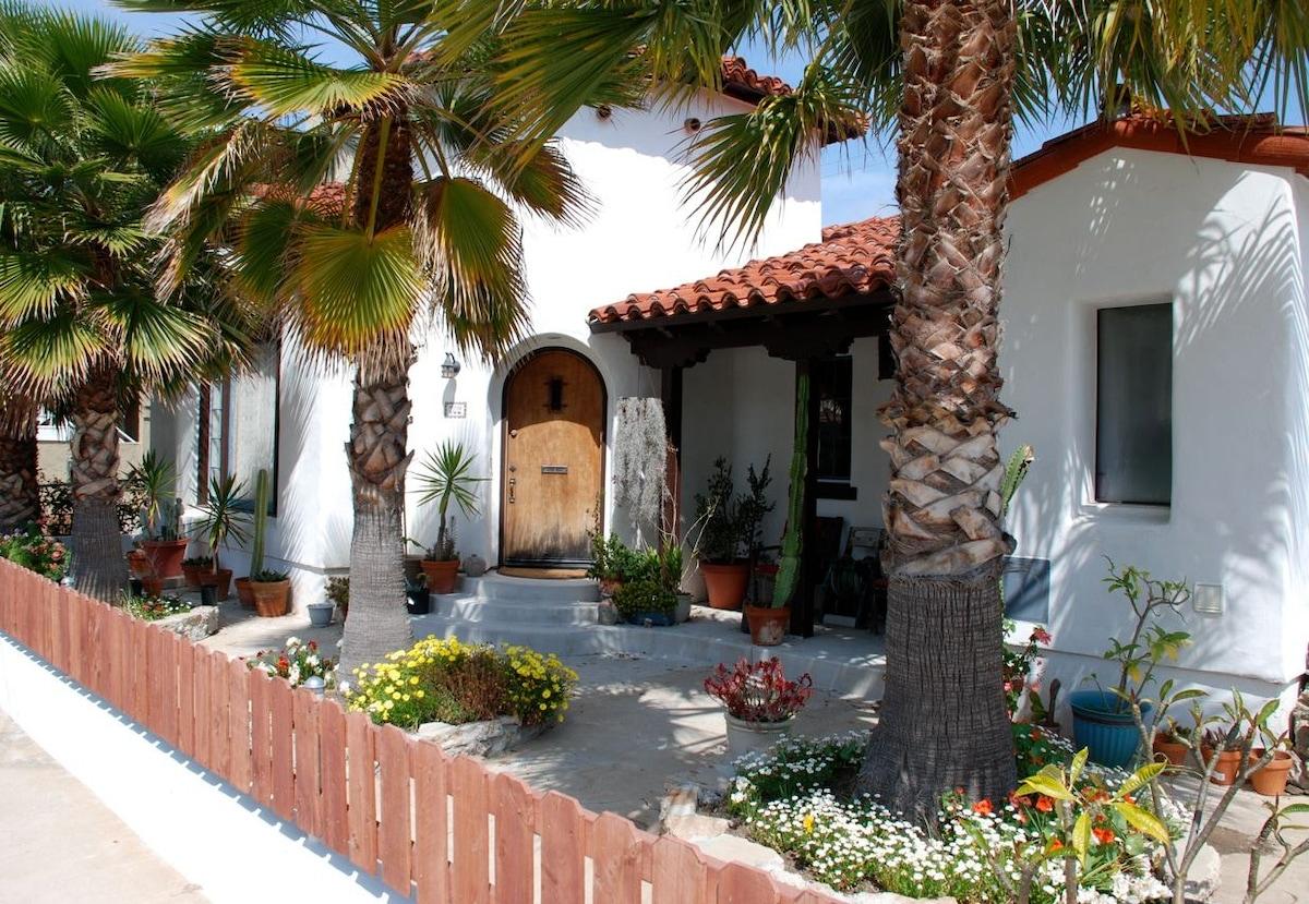 Spanish Hacienda/Beach Cottage