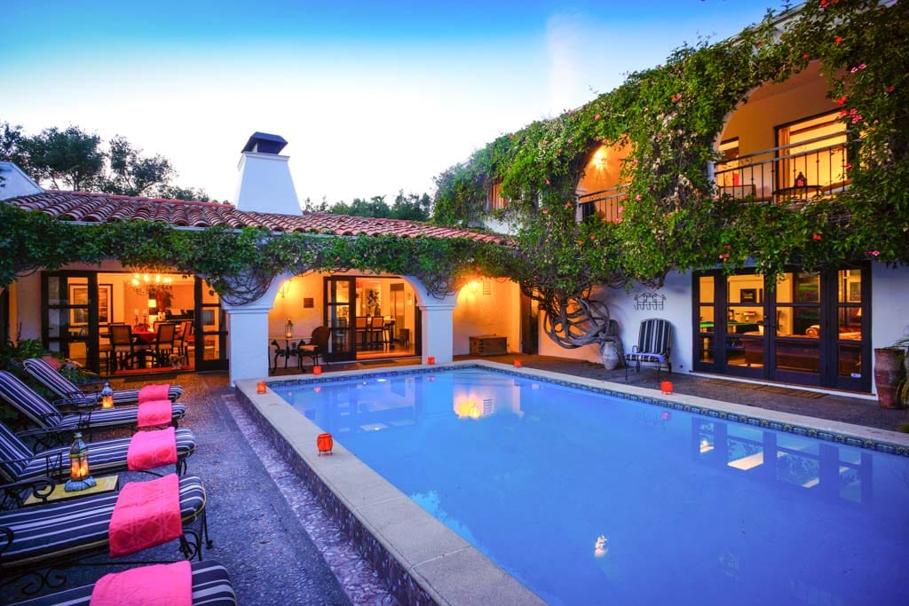 Interior Courtyard with pool